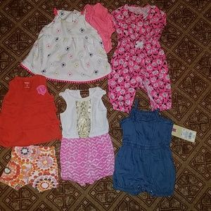 Baby girl Summer 0-3 lot